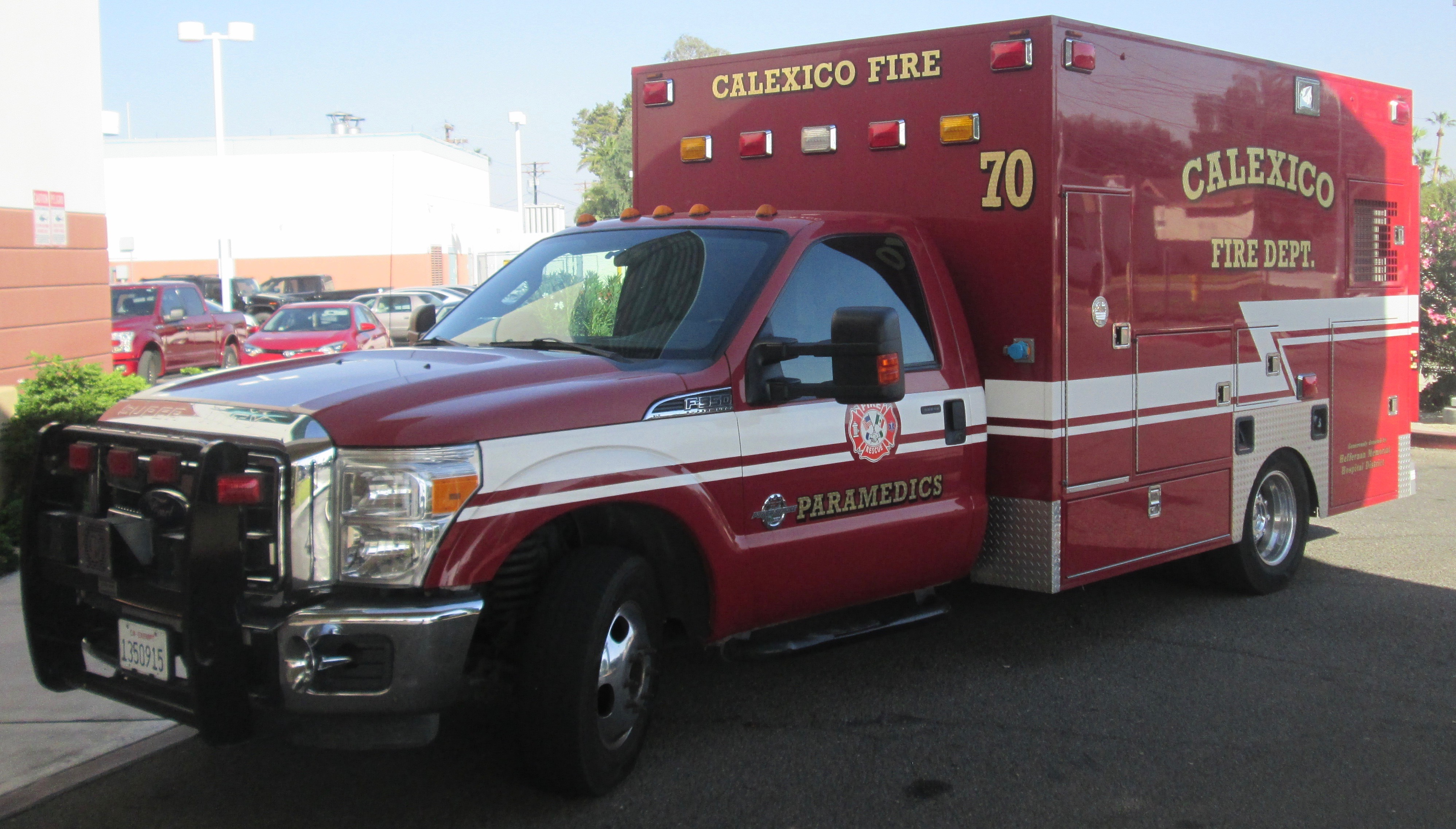 Fire Department Stations & Apparatus - City of Calexico